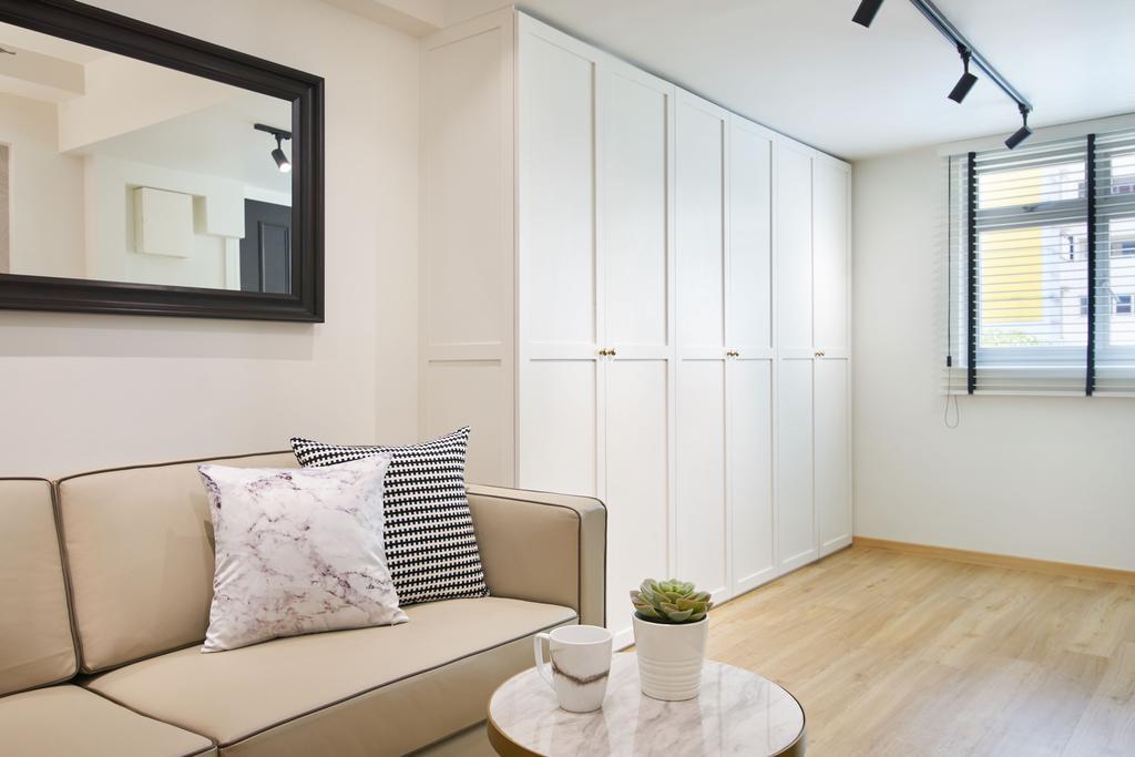 Modern, HDB, Living Room, Ang Mo Kio Avenue 4, Interior Designer, Jubilee Interior, Scandinavian