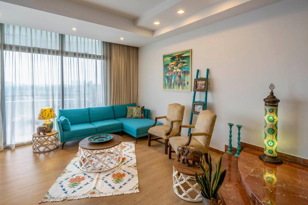 Regency Park Living Room Interior Design 1