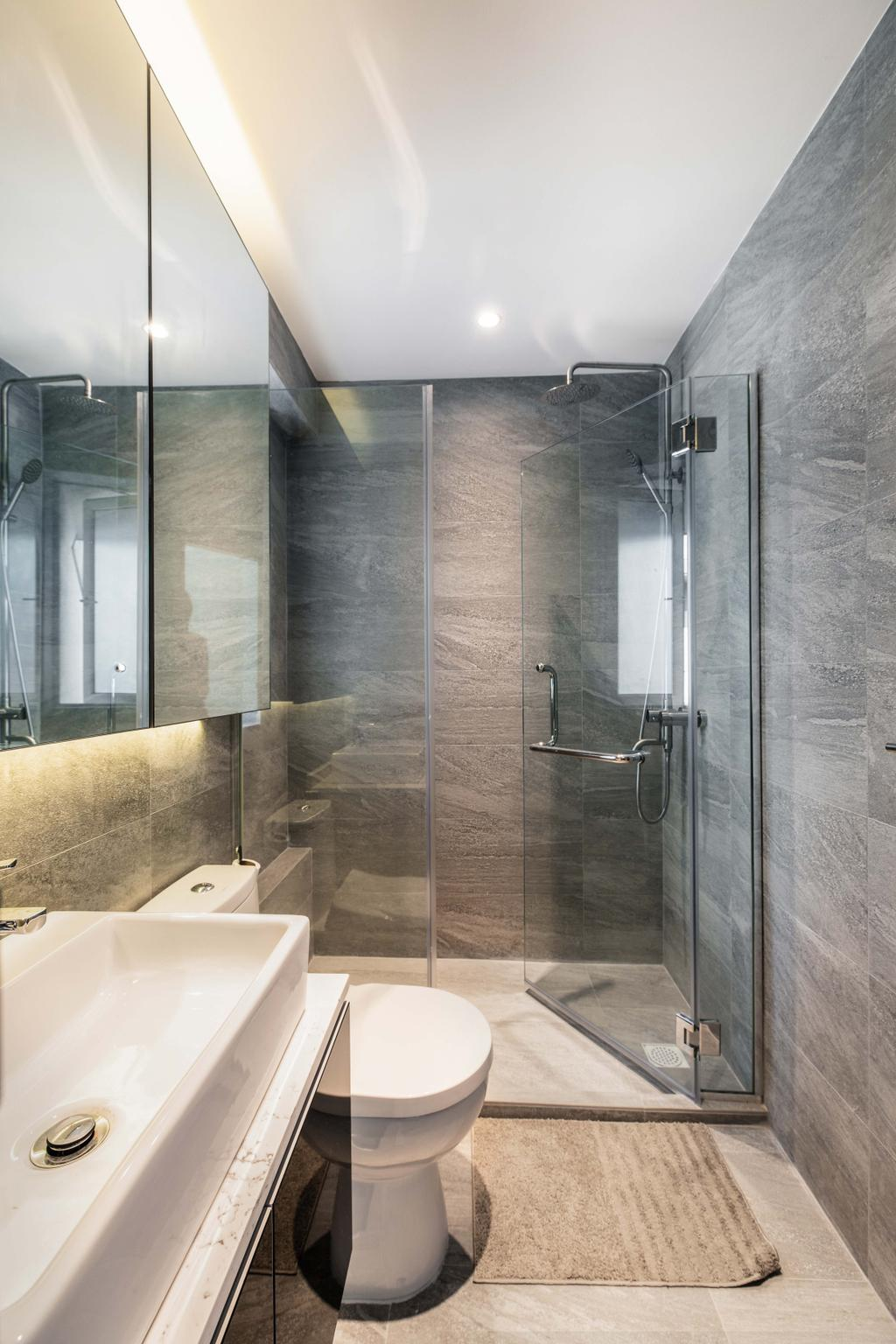 Contemporary, Condo, Bathroom, Jansen 8, Interior Designer, DSOD Interior