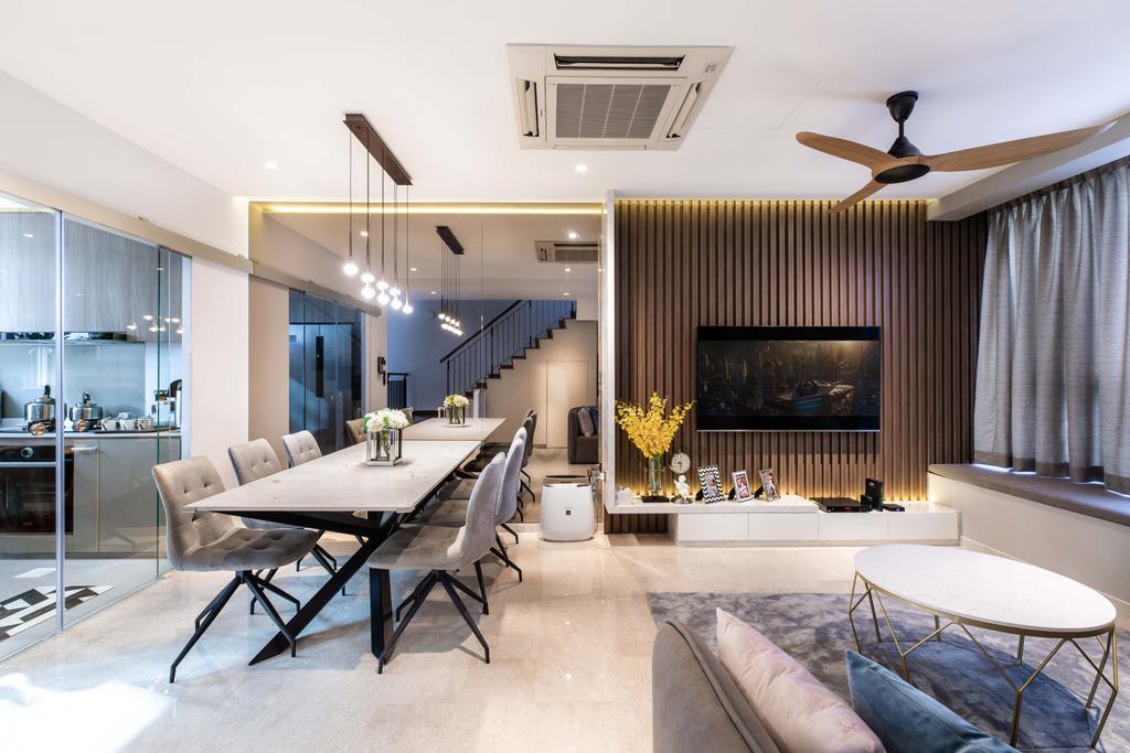 Contemporary, Condo, Living Room, Jansen 8, Interior Designer, DSOD Interior