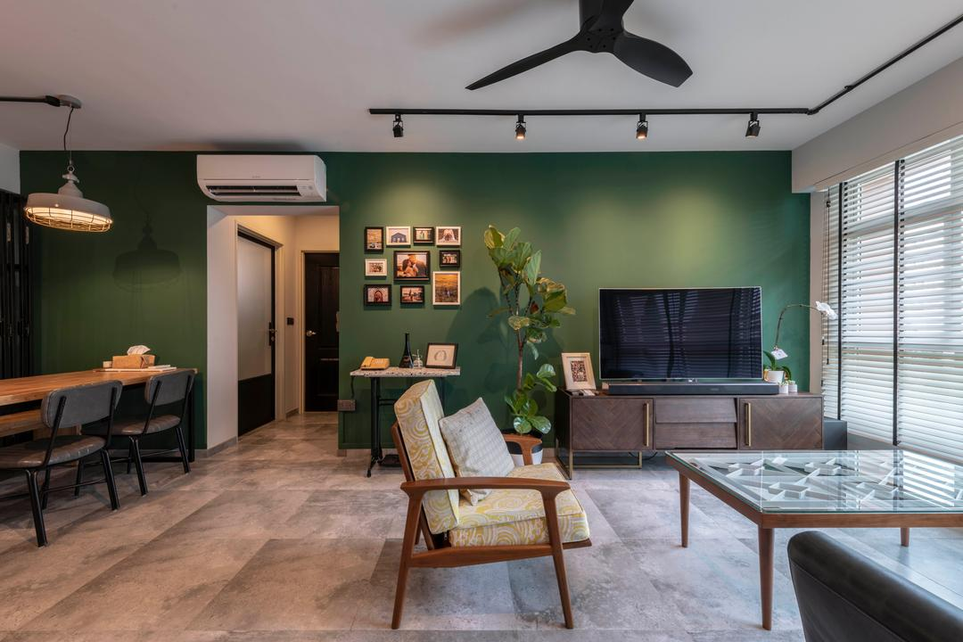 Tampines Street 45 Living Room Interior Design 5