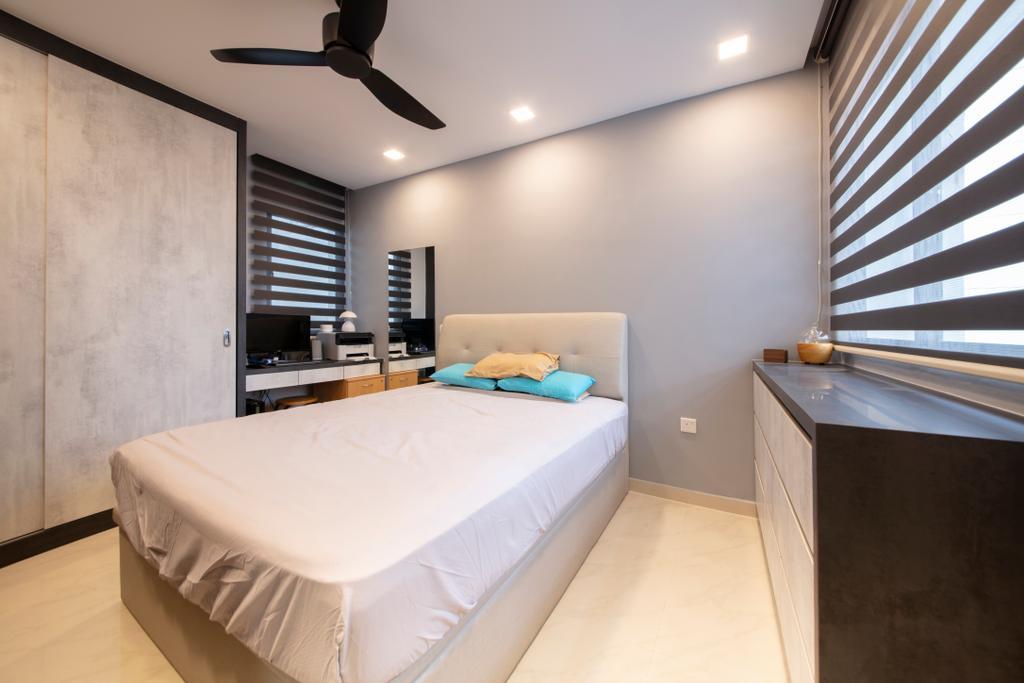 Contemporary, HDB, Bedroom, Bedok North Road, Interior Designer, Starry Homestead