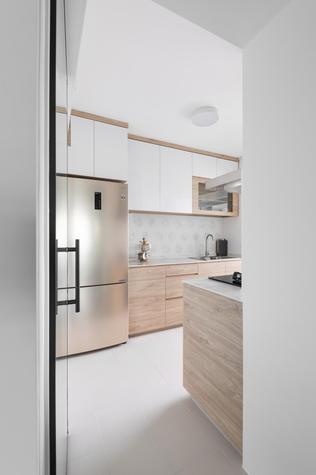 Scandinavian, HDB, Kitchen, Henderson Road, Interior Designer, Zenith Arc, Minimalistic