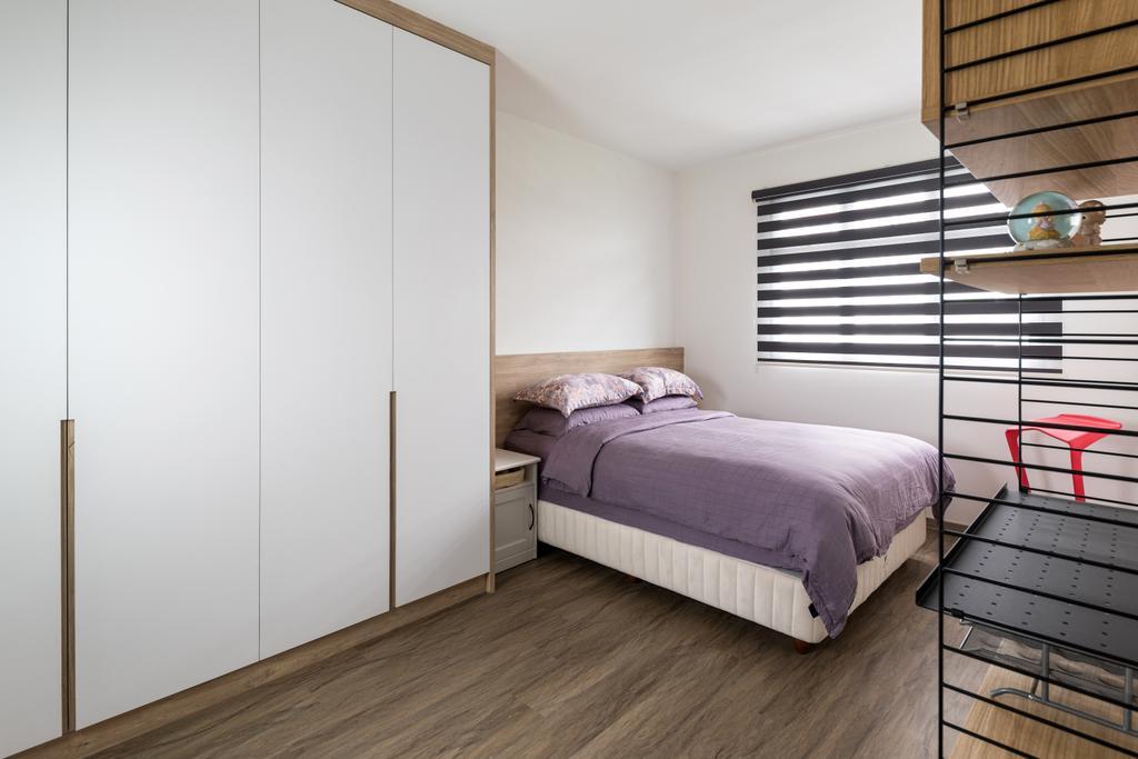 Scandinavian, HDB, Bedroom, Henderson Road, Interior Designer, Zenith Arc, Minimalistic