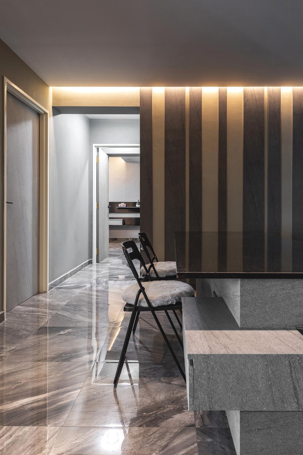 Contemporary, HDB, Yung Kuang Road, Interior Designer, Inclover Design