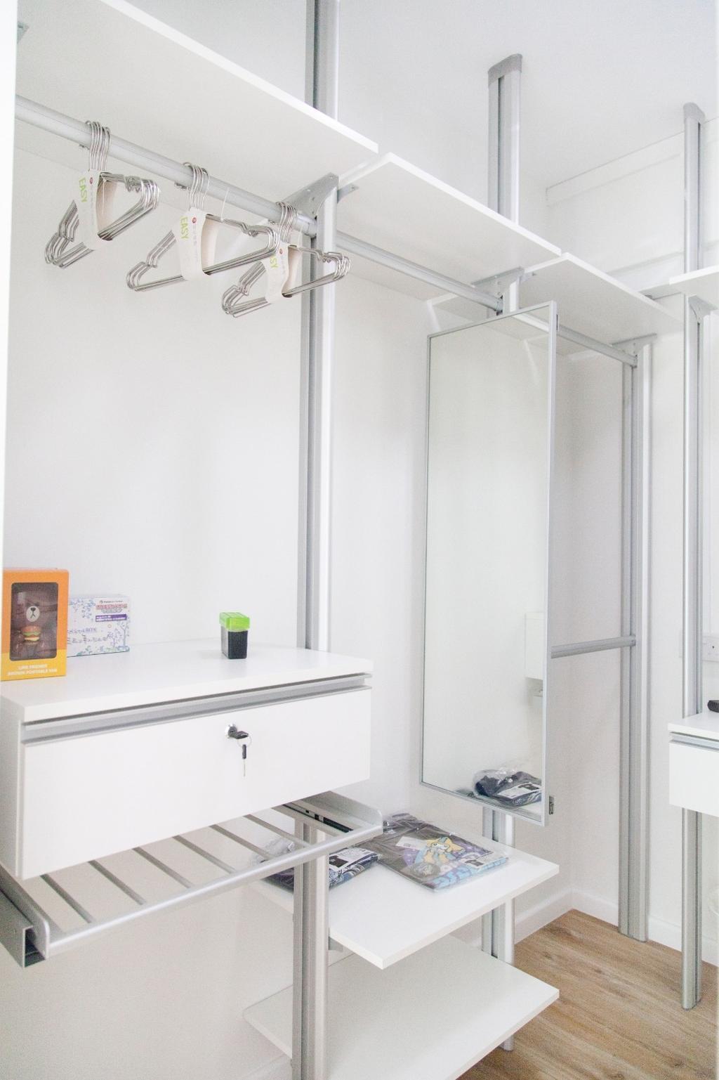 Minimalist, HDB, Bedroom, Tampines (Block 349), Interior Designer, Mink Design