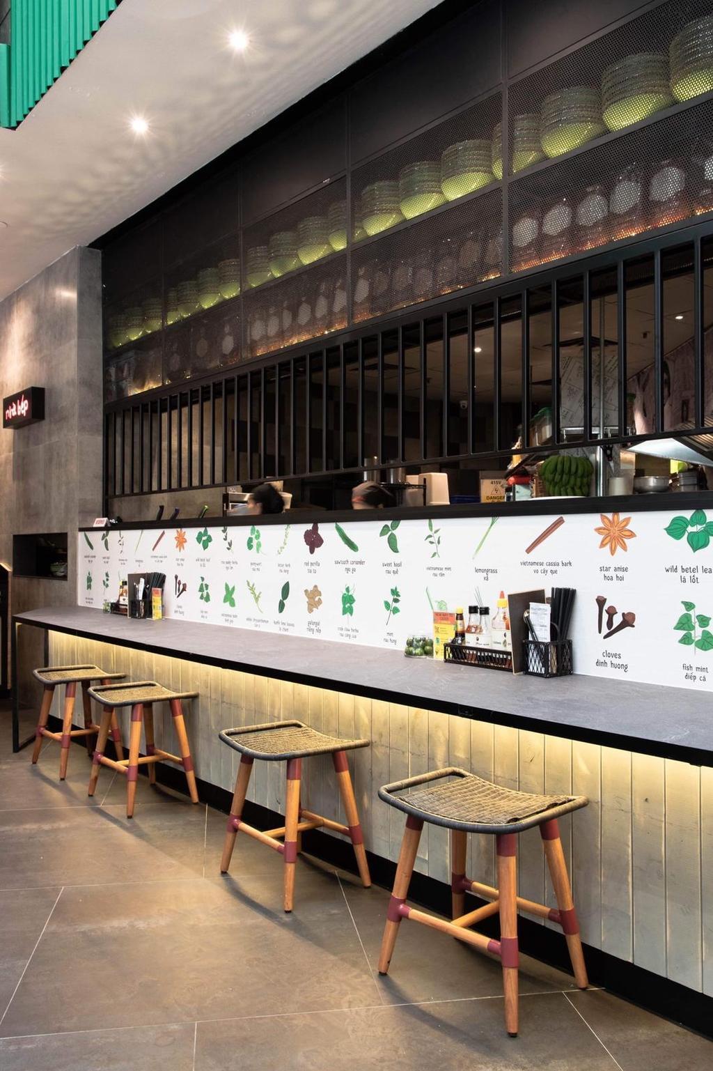 Nam Nam Noodle Bar, Commercial, Interior Designer, Mink Design, Eclectic