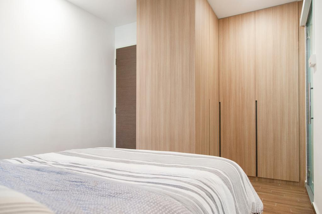 Modern, HDB, Bedroom, Compassvale Drive (Block 257C), Interior Designer, Mink Design