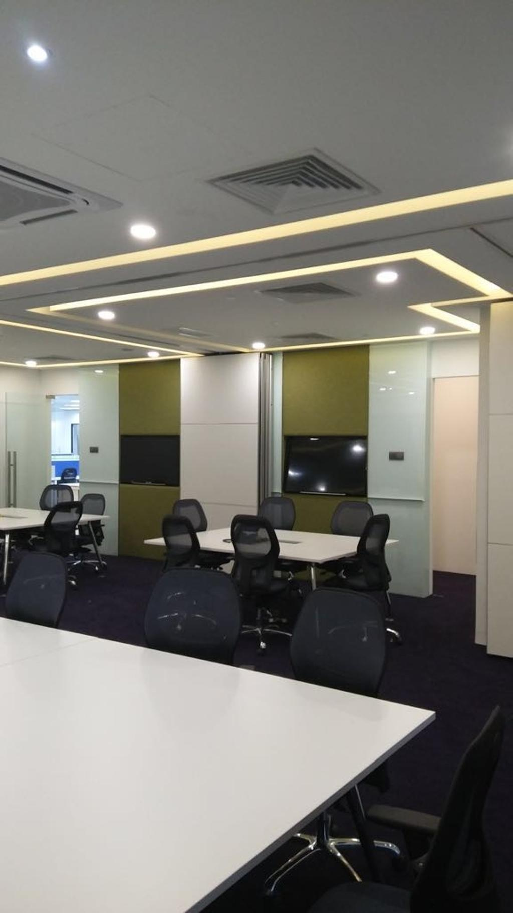 Orange Business Services, Commercial, Interior Designer, 3 Concepts, Modern