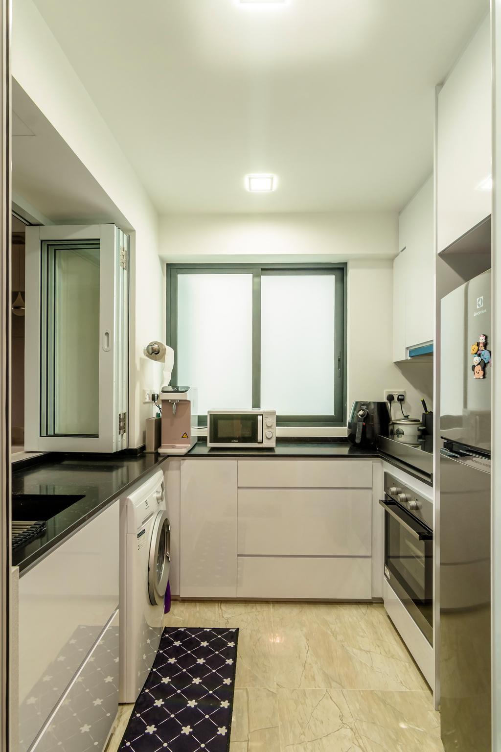 Contemporary, Condo, Kitchen, Kingsford Waterbay, Interior Designer, Design Story