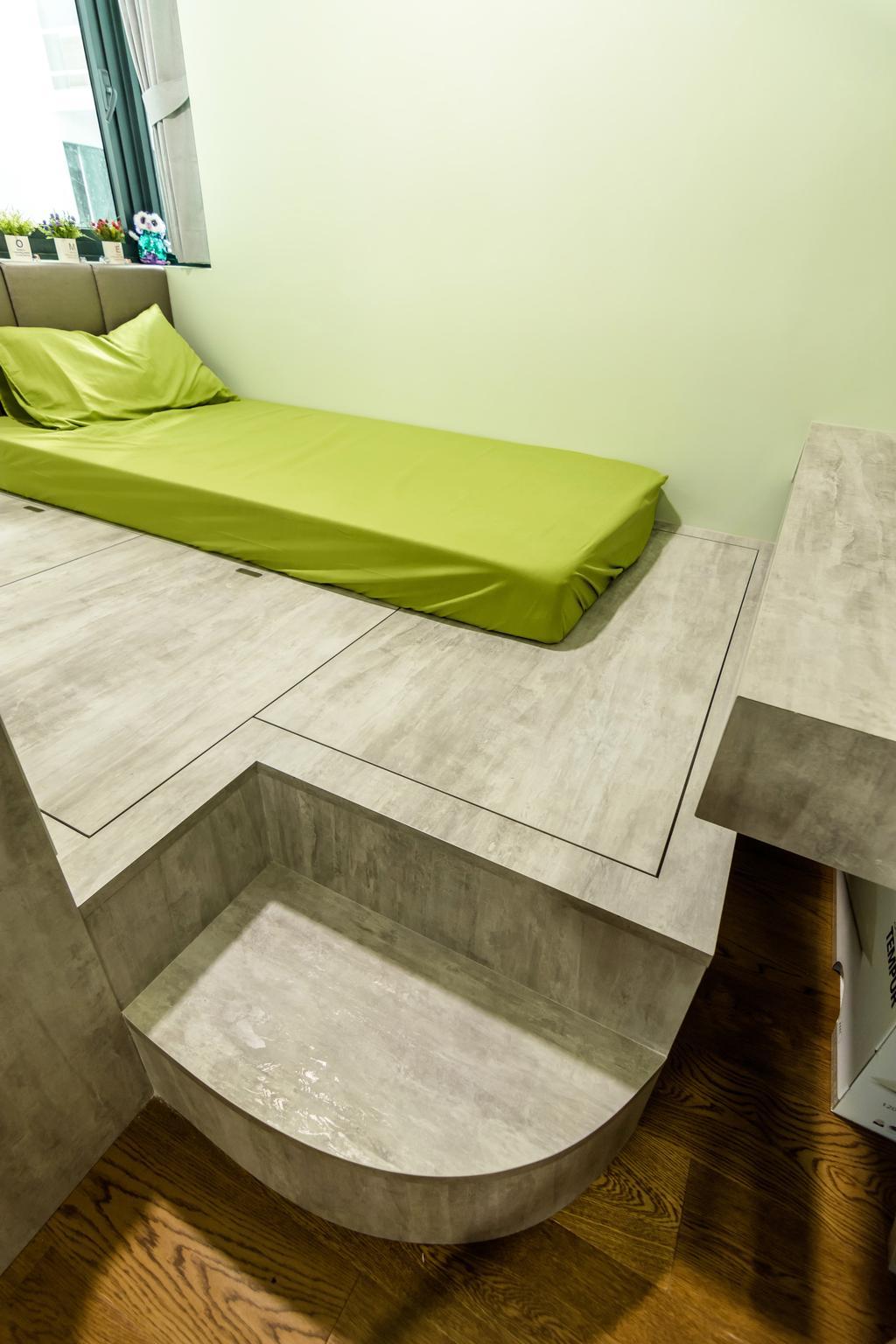 Contemporary, Condo, Bedroom, Kingsford Waterbay, Interior Designer, Design Story