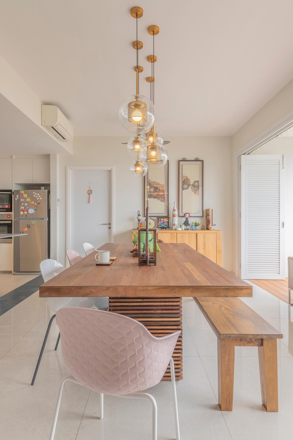 Modern, Condo, Dining Room, Sea Esta, Interior Designer, erstudio, Scandinavian
