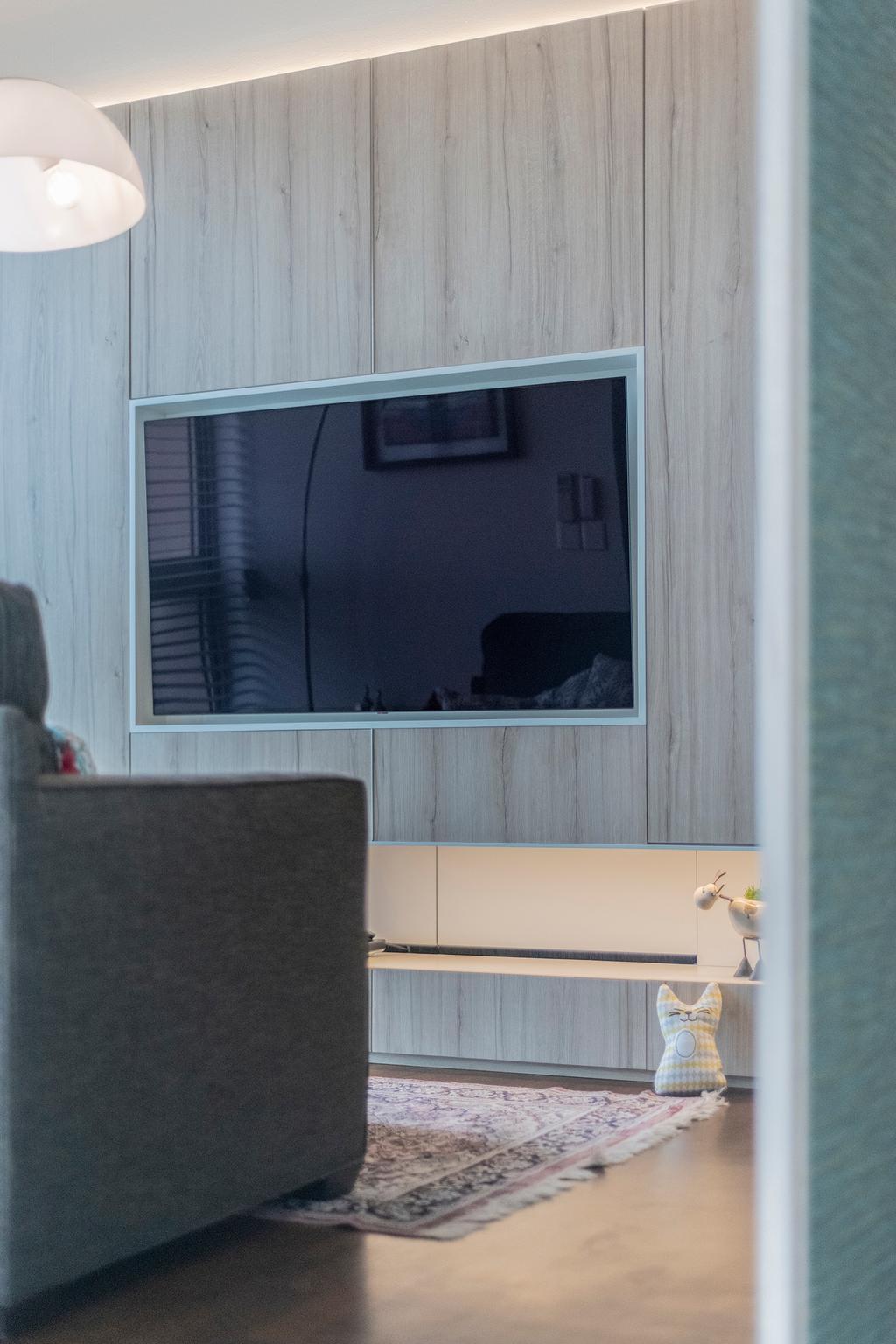 Modern, Condo, Living Room, Sea Esta, Interior Designer, erstudio, Scandinavian