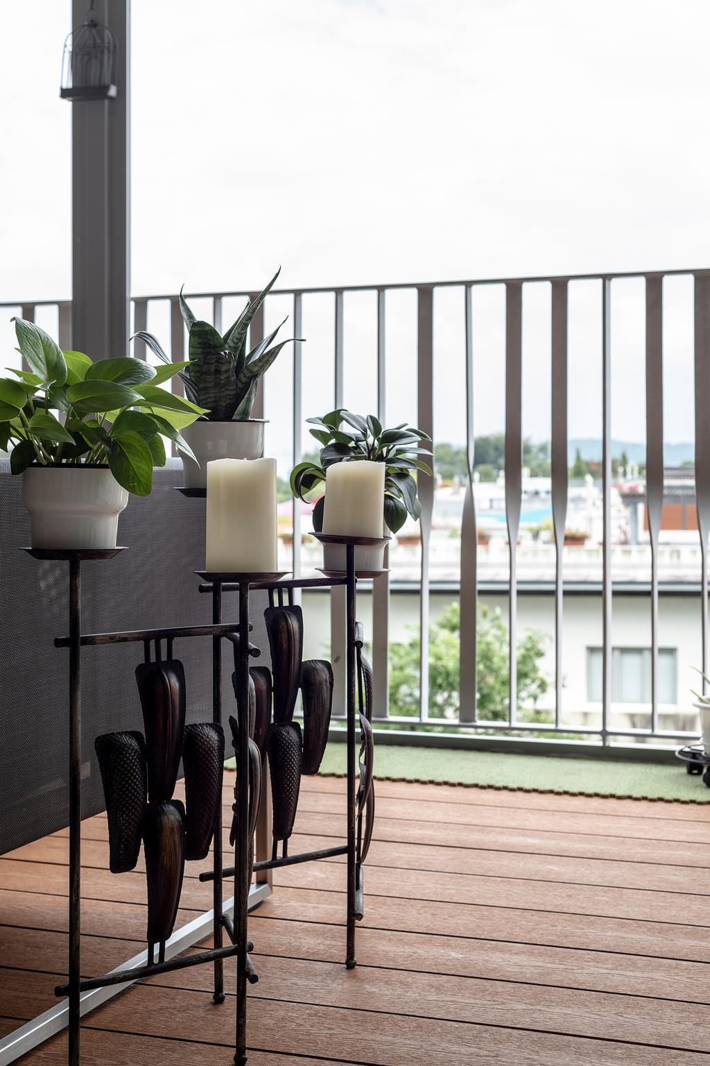 Modern, Condo, Balcony, Sea Esta, Interior Designer, erstudio, Scandinavian