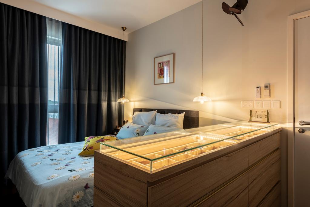Modern, Condo, Bedroom, Sea Esta, Interior Designer, erstudio, Scandinavian