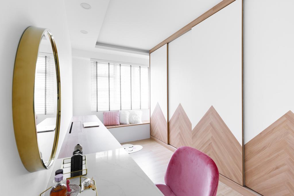 Minimalistic, HDB, Study, Telok Blangah Street 31, Interior Designer, The Local INN.terior 新家室, Contemporary