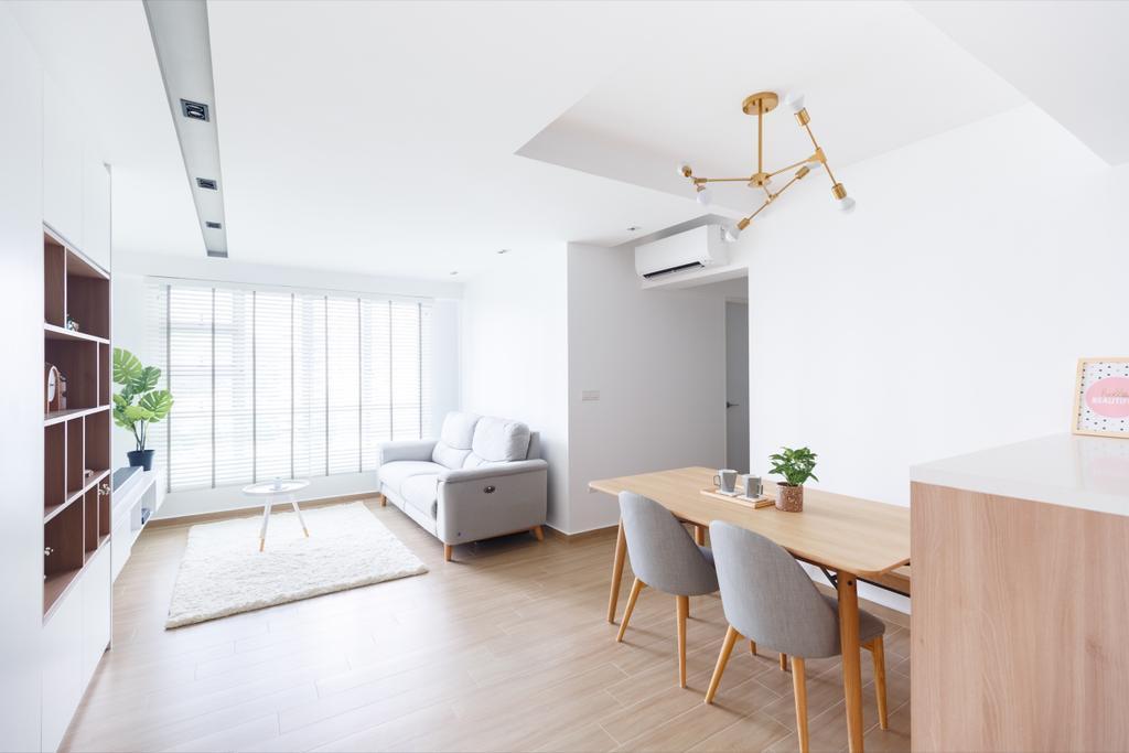 Minimalistic, HDB, Dining Room, Telok Blangah Street 31, Interior Designer, The Local INN.terior 新家室, Contemporary