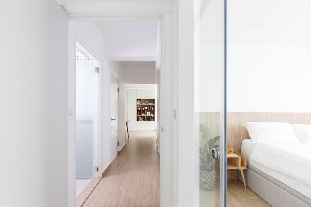 Minimalistic, HDB, Bedroom, Telok Blangah Street 31, Interior Designer, The Local INN.terior 新家室, Contemporary