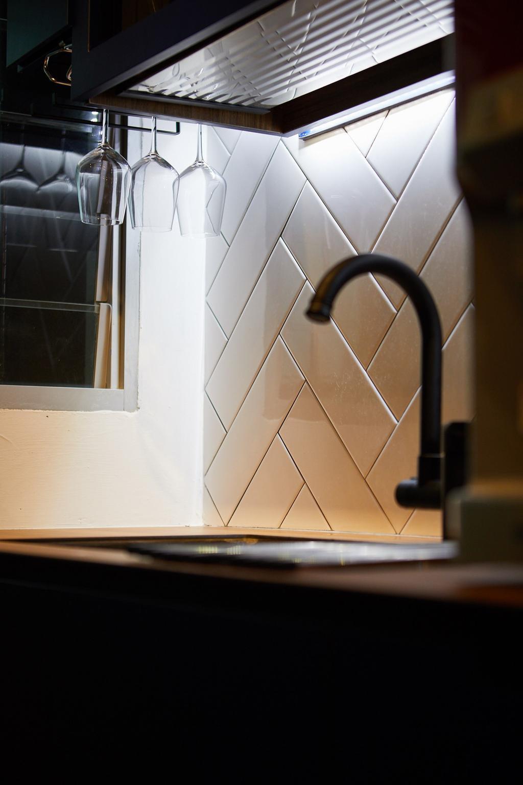 Contemporary, HDB, Kitchen, Telok Blangah, Interior Designer, The Local INN.terior 新家室, Eclectic