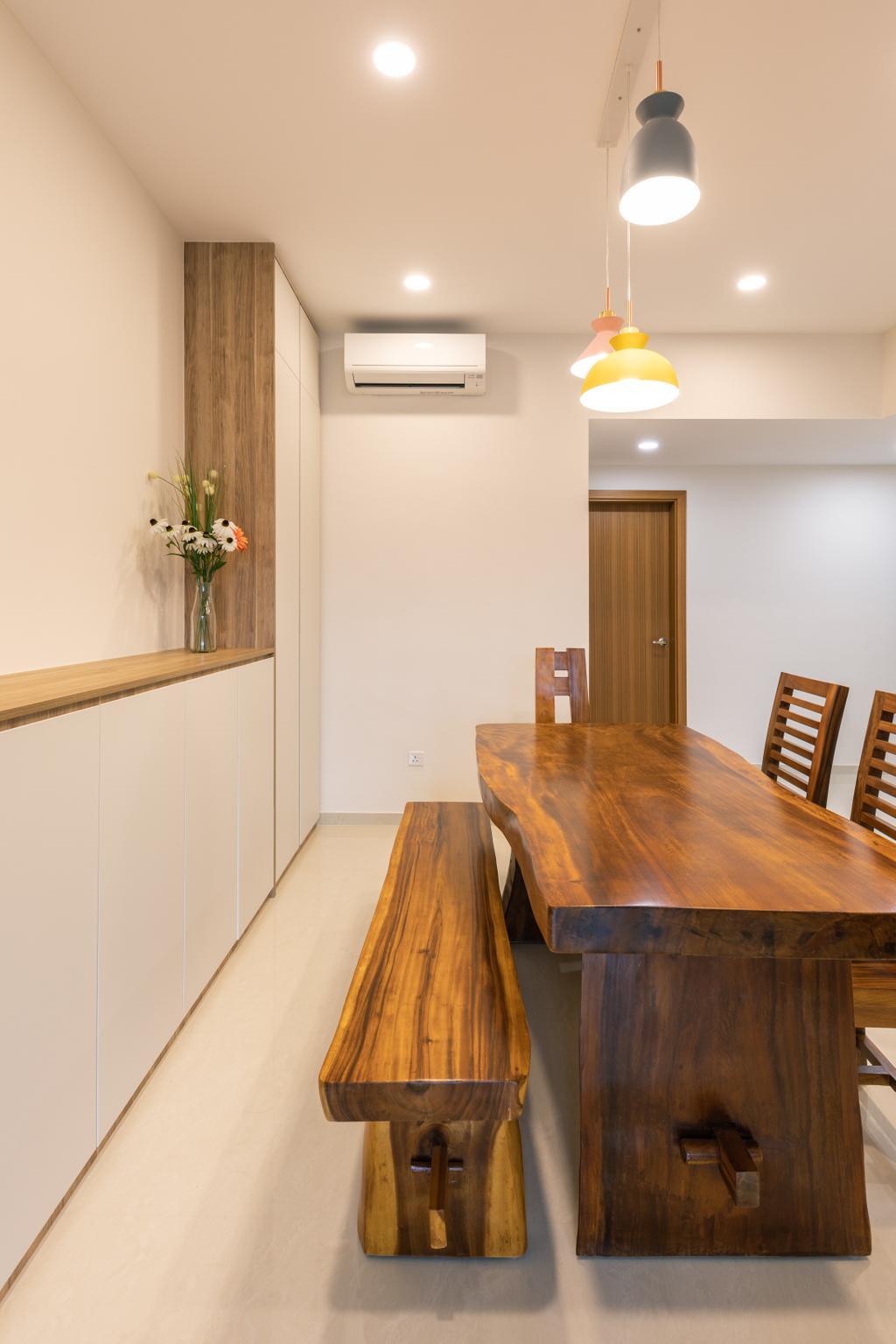 Contemporary, Condo, Dining Room, Limau Park, Interior Designer, Hygge Design