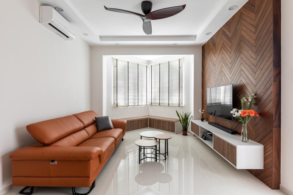 Contemporary, Condo, Living Room, Limau Park, Interior Designer, Hygge Design