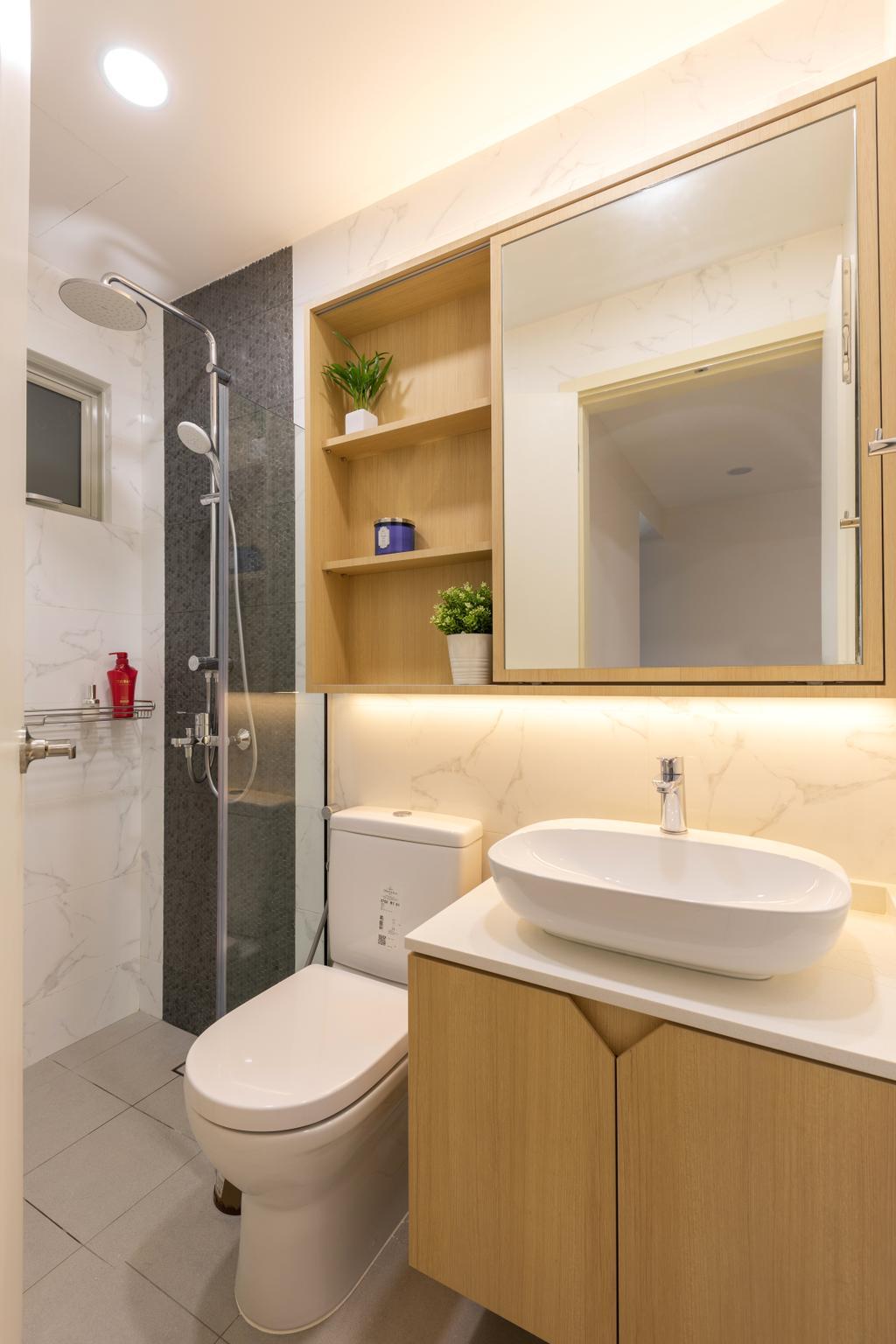 Contemporary, Condo, Bathroom, Limau Park, Interior Designer, Hygge Design