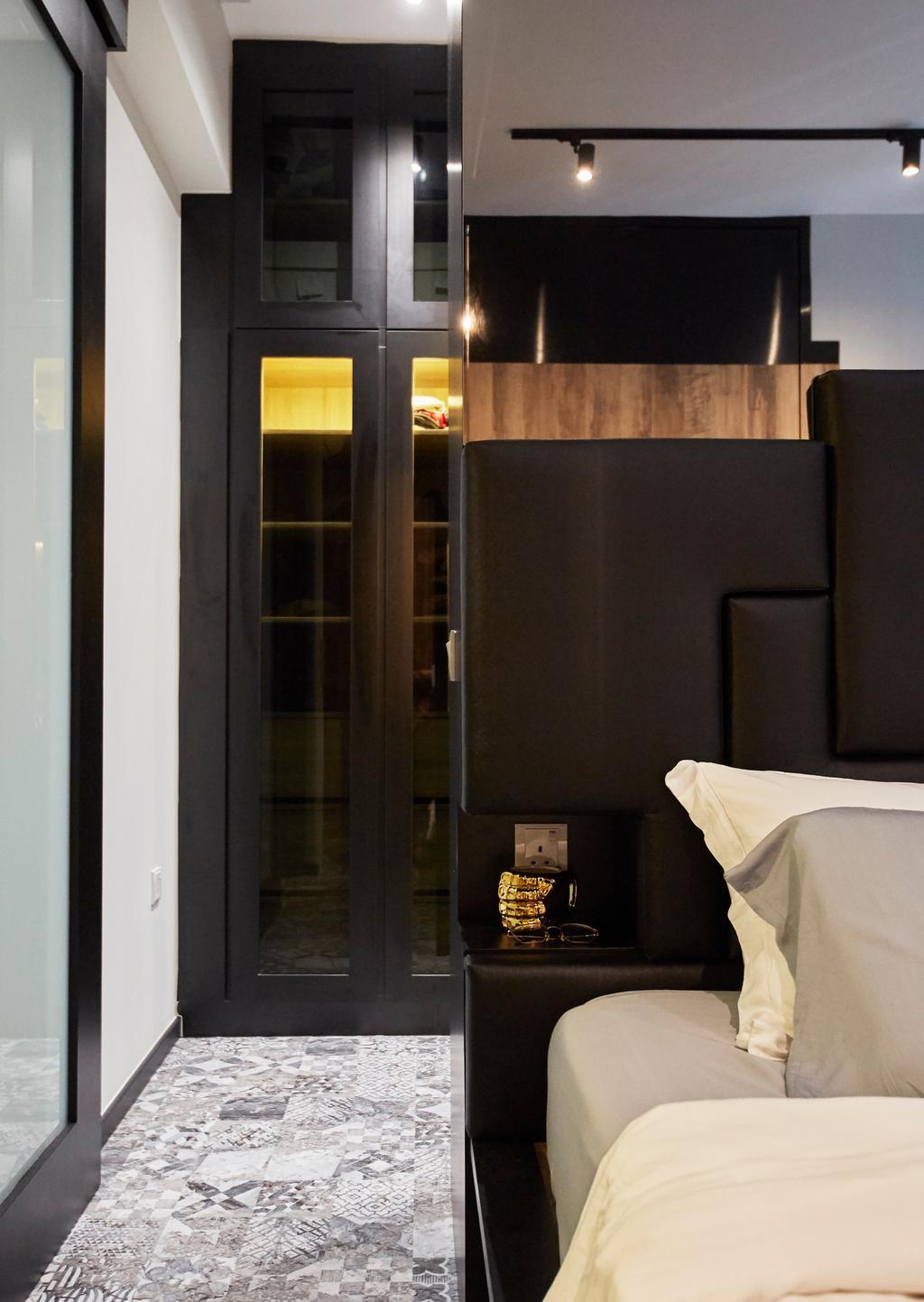 Modern, Condo, Bedroom, Triville, Interior Designer, i-Chapter