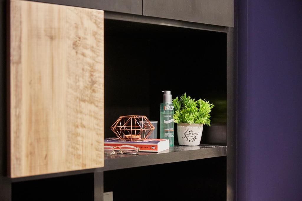 Modern, Condo, Living Room, Triville, Interior Designer, i-Chapter