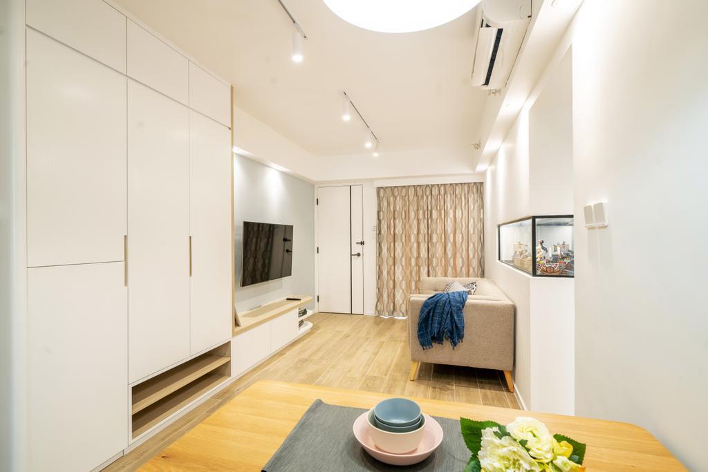 簡約, 私家樓, 飯廳, 尚南天, 室內設計師, The NEST, 北歐