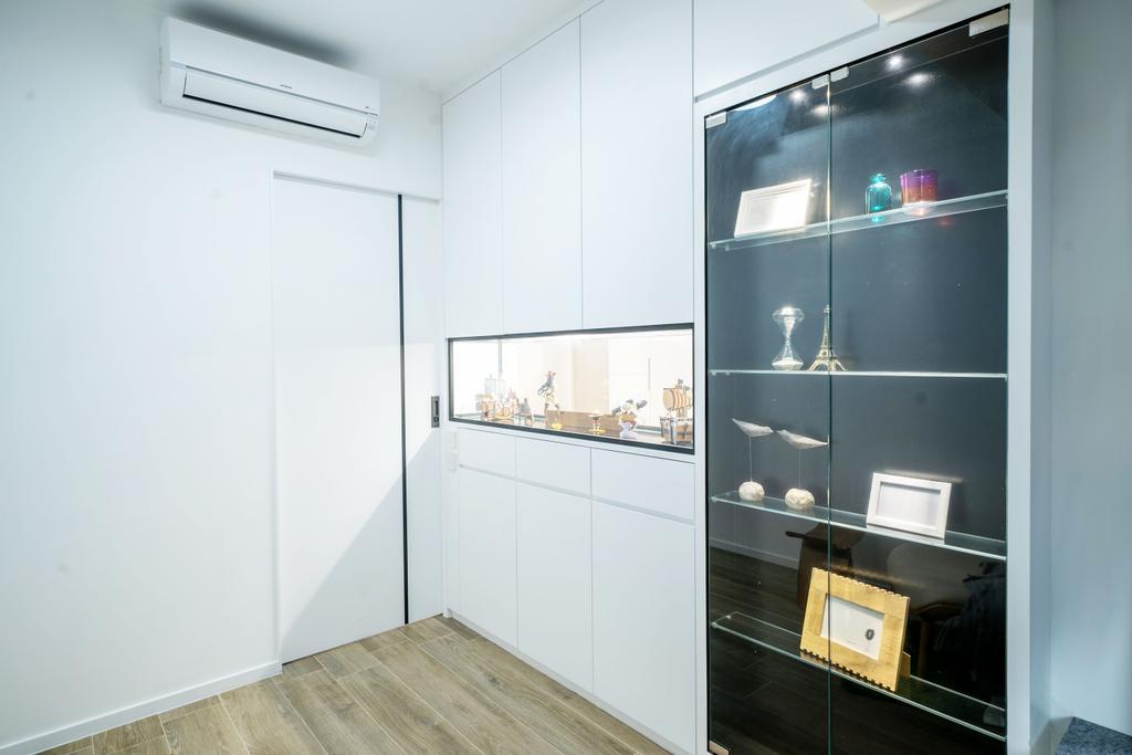 簡約, 私家樓, 睡房, 尚南天, 室內設計師, The NEST, 北歐