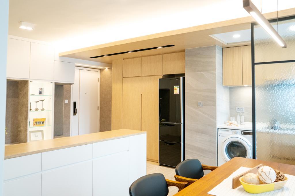 簡約, 私家樓, 飯廳, 俊民苑, 室內設計師, The NEST