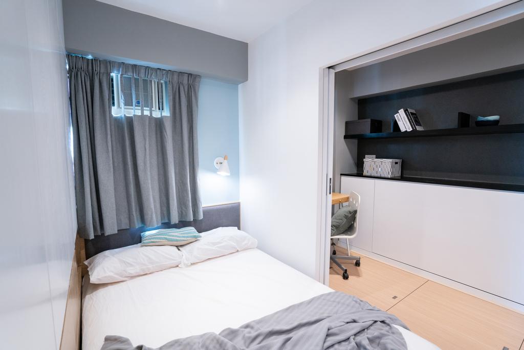 簡約, 私家樓, 睡房, 俊民苑, 室內設計師, The NEST