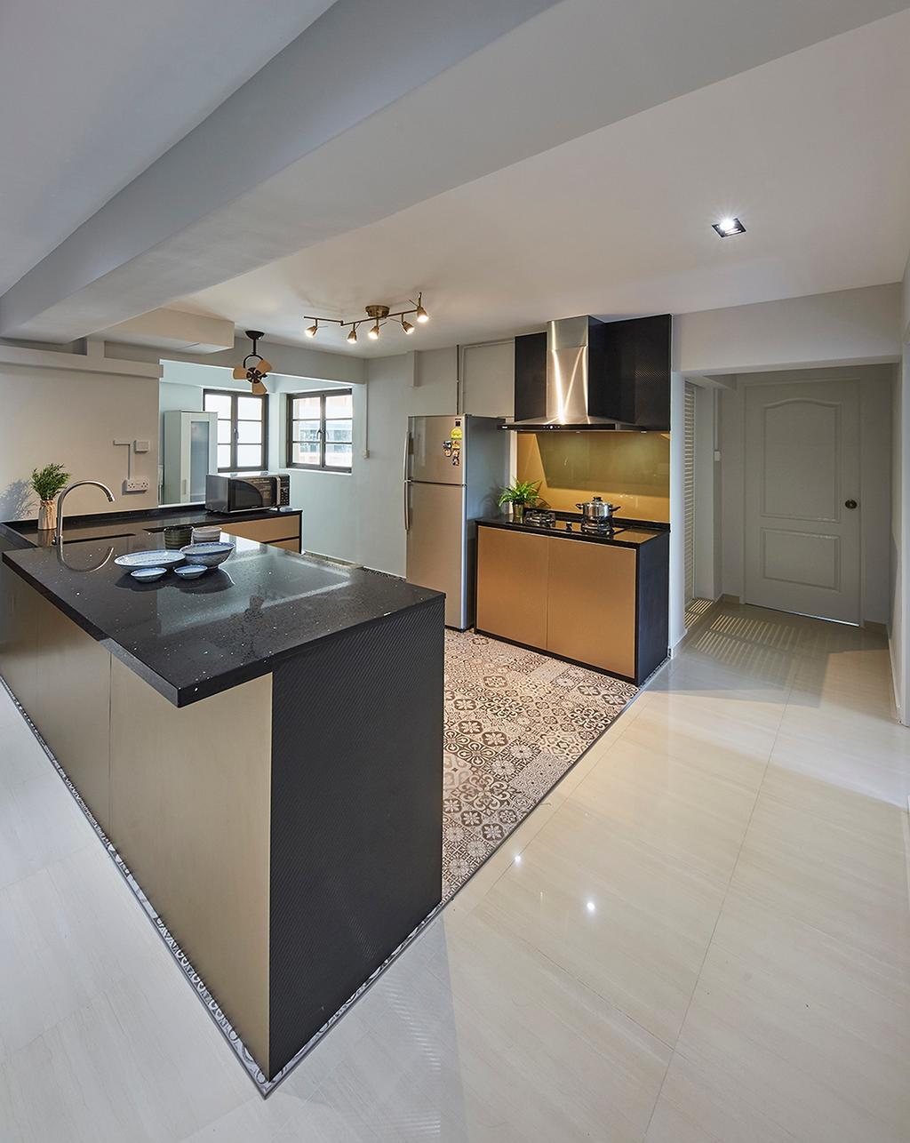 Modern, HDB, Kitchen, Canberra Road (Block 304), Interior Designer, The Interior Lab