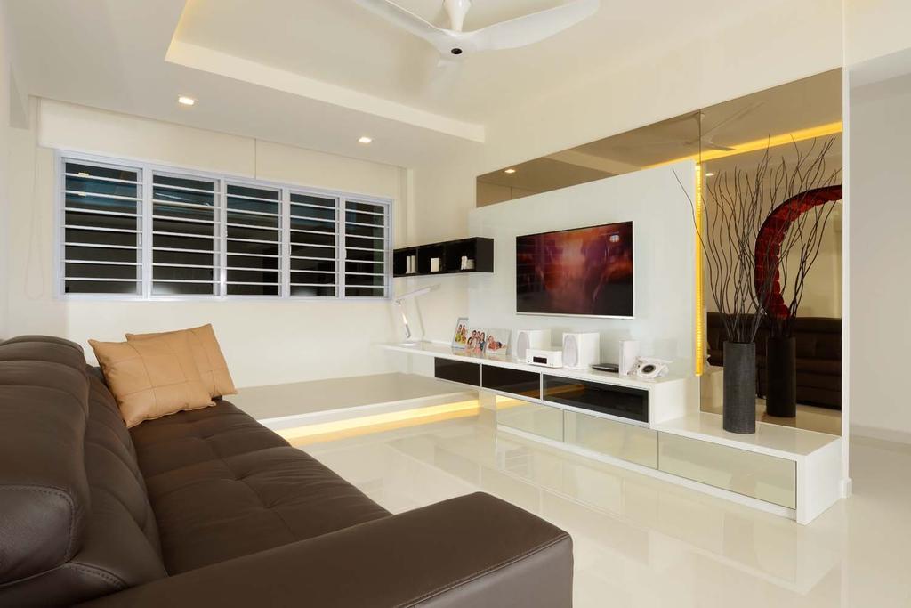 Modern, HDB, Living Room, Pasir Ris Drive 1 (Block 635), Interior Designer, MyDesign Interiors
