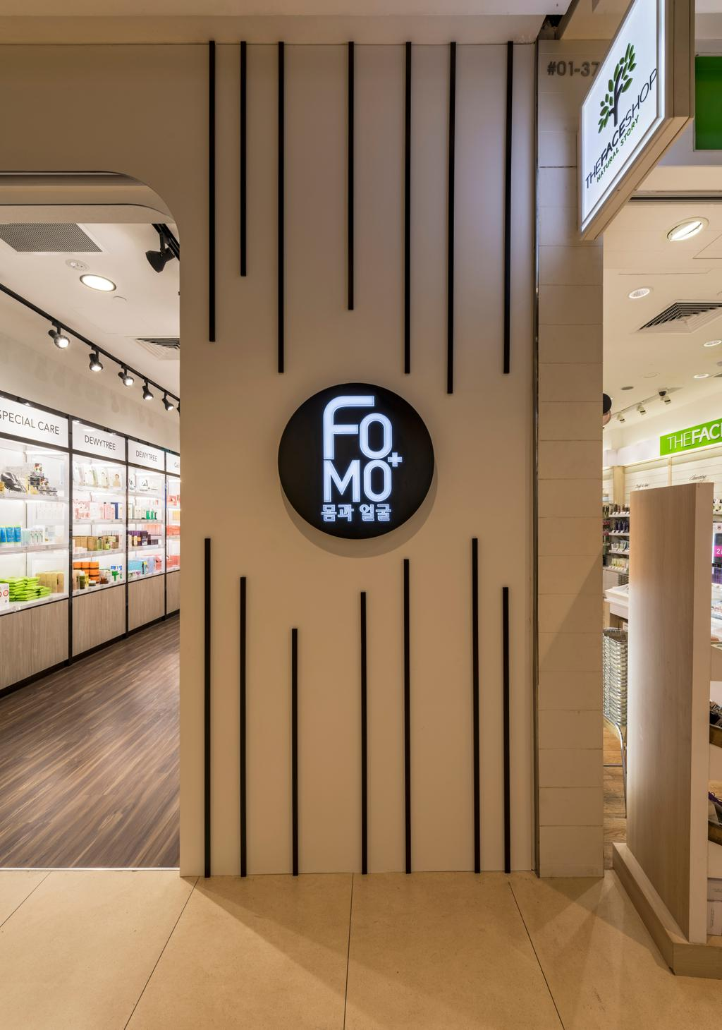 FOMO, Commercial, Interior Designer, Earth Interior Design Pte Ltd, Minimalist