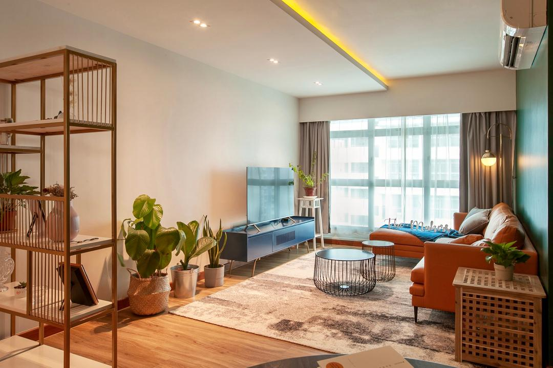 This Lively HDB Home is Every Colour Lover's Dream Come True