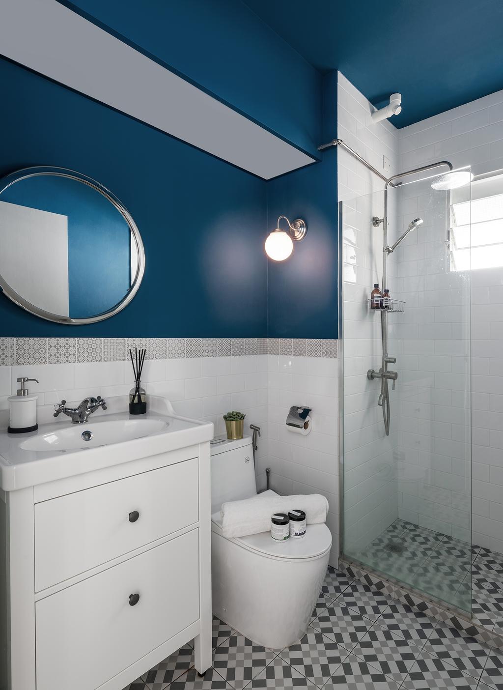 Contemporary, HDB, Bathroom, Punggol Field, Interior Designer, Stylemyspace