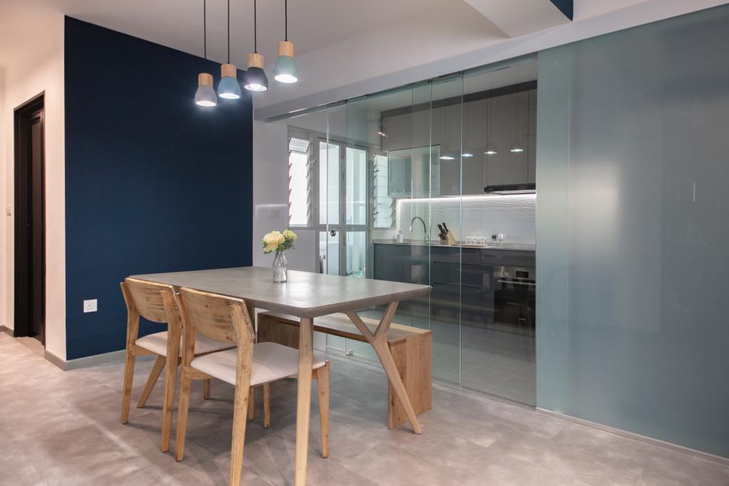 Contemporary, HDB, Dining Room, Sumang Walk, Interior Designer, Starry Homestead