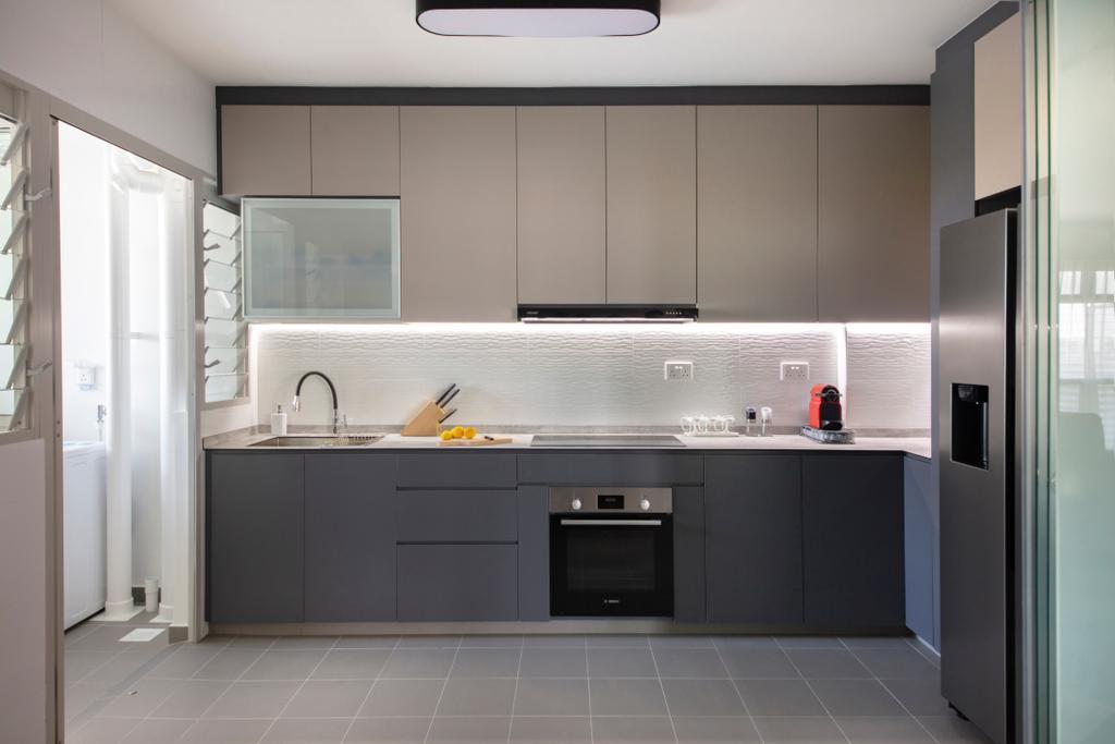 Contemporary, HDB, Kitchen, Sumang Walk, Interior Designer, Starry Homestead