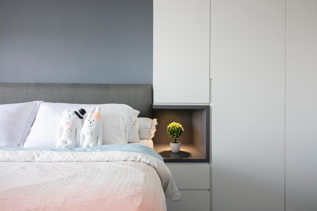 Contemporary, HDB, Bedroom, Sumang Walk, Interior Designer, Starry Homestead