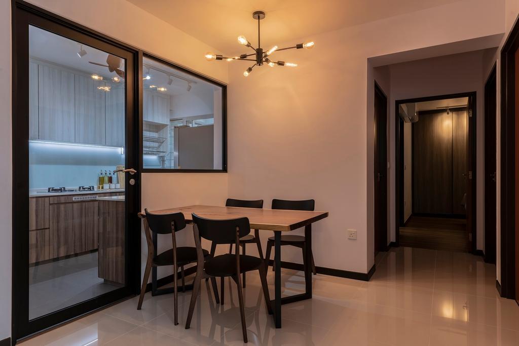 Minimalistic, HDB, Dining Room, St. George's Lane, Interior Designer, Ideal Haus
