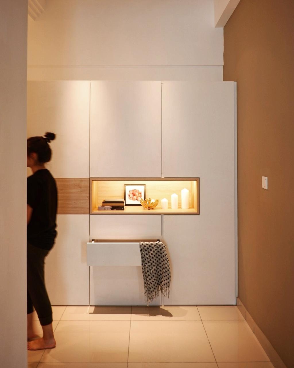 Minimalistic, Condo, Summer Skye Residences, Bayan Lepas, Interior Designer, Interior Choreographer Design (INC Design)