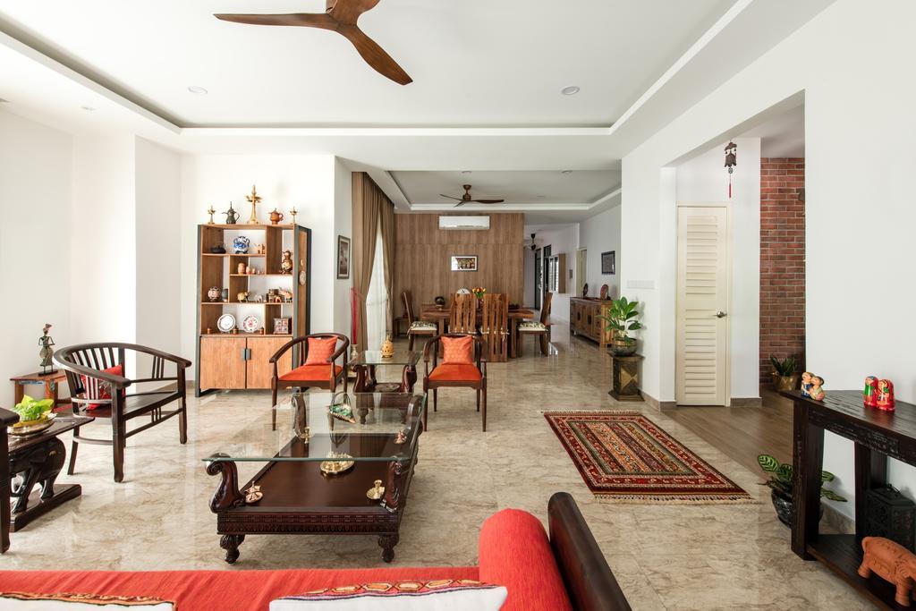 Modern, Landed, Living Room, Ara Vista, Ara Damansara, Interior Designer, Pocket Square