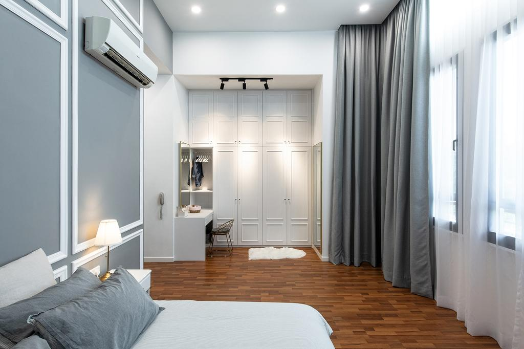 Modern, Landed, Bedroom, Eco Majestic, Semenyih, Interior Designer, Pocket Square, Contemporary