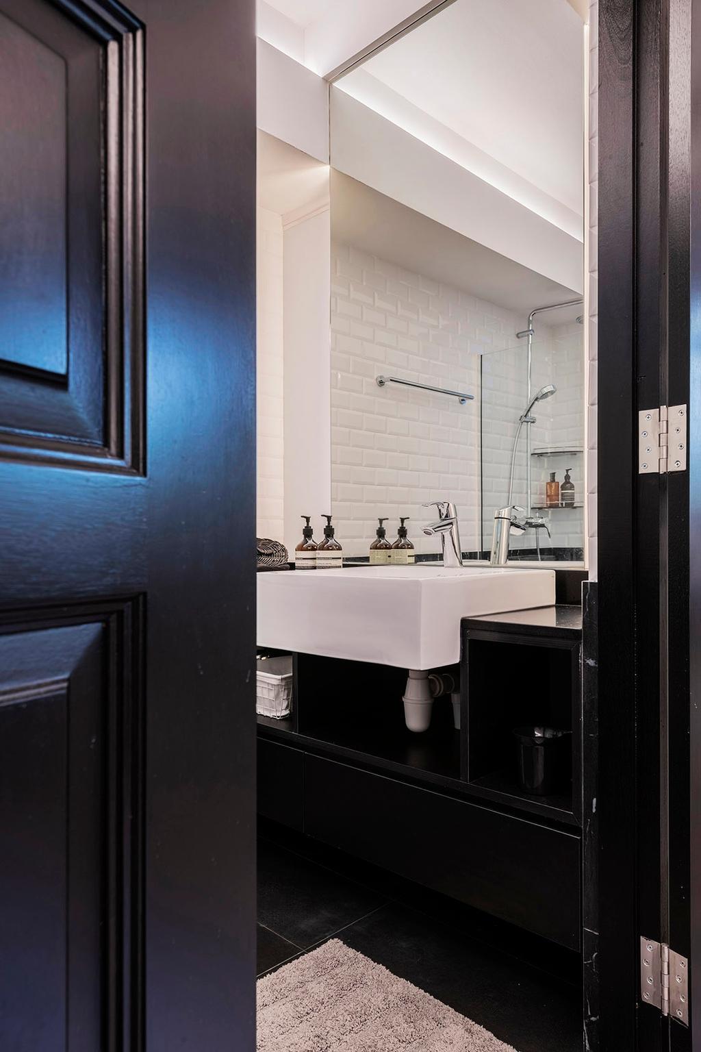 Contemporary, HDB, Bathroom, Bedok North, Interior Designer, erstudio