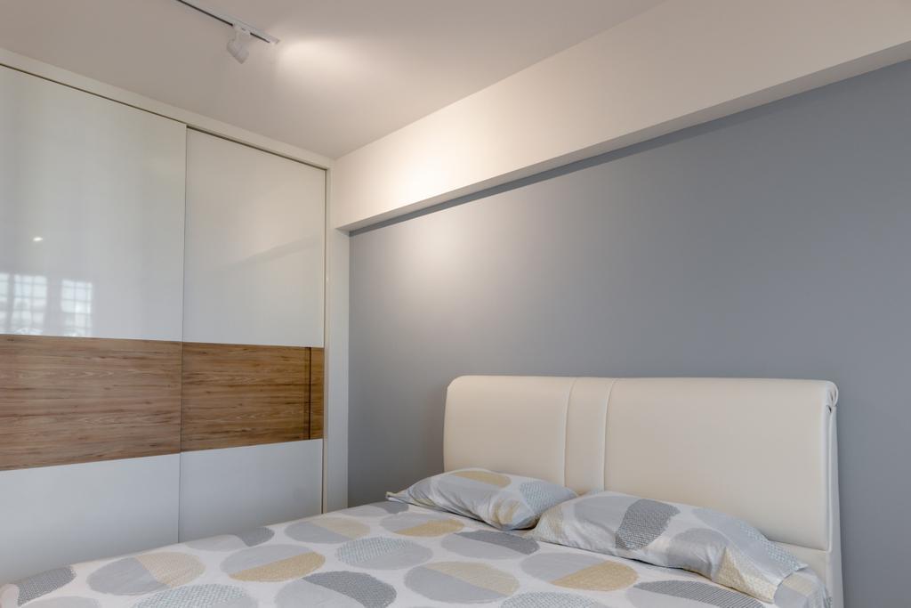 Contemporary, HDB, Bedroom, Tampines Street 24, Interior Designer, 9 Creation, Modern