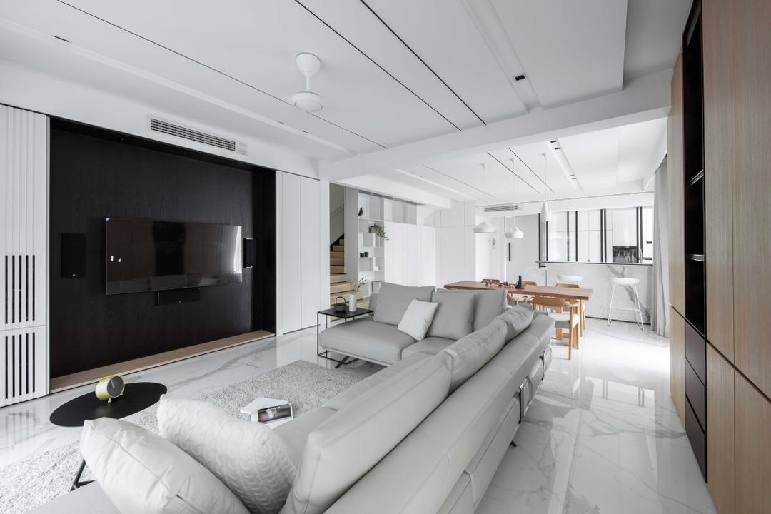 Zenia Desa ParkCity, KL Living Room Interior Design 24