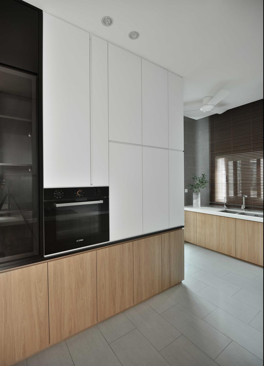 Modern, Landed, Kitchen, Victoria Cottage, Perak, Interior Designer, PINS Studio, Contemporary