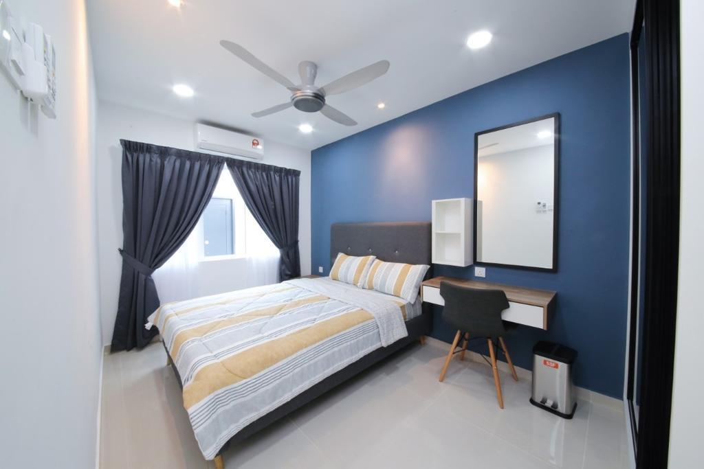 Modern, Landed, Bedroom, USJ 20, Subang Jaya, Interior Designer, Muse Design Group Sdn Bhd, Minimalist