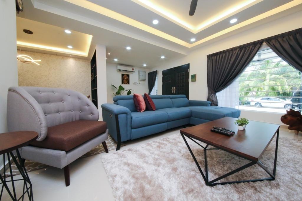 Modern, Landed, Living Room, USJ 20, Subang Jaya, Interior Designer, Muse Design Group Sdn Bhd, Minimalist